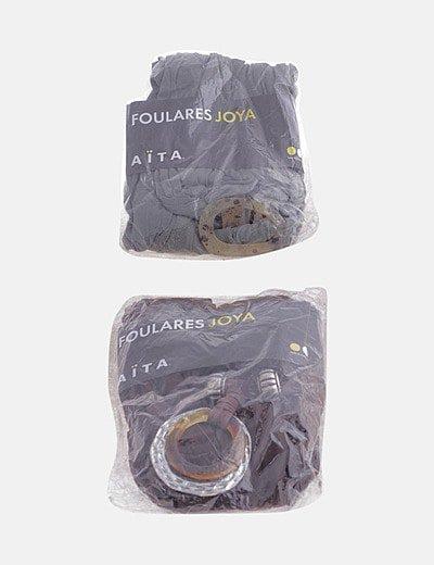 Pack 2 foulard detalle joya