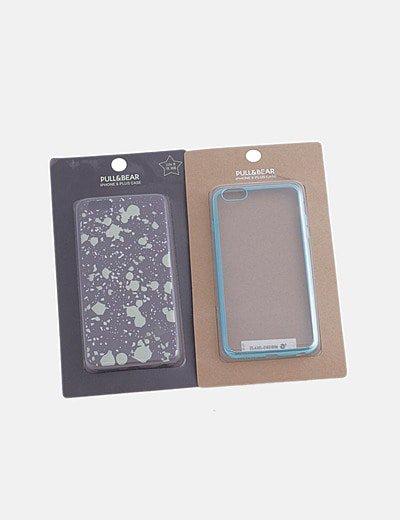 Pack fundas de móvil Iphone 6 plus