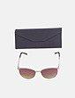 Gafas de sol combinada nude Carolina Lemke