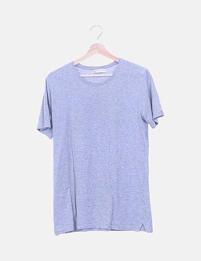 Camiseta gris print girls