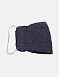 Bolso mini negro con strass Renatta