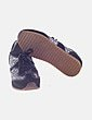 Sneaker negra con glitter Blink