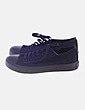 Sneakers puntera de goma negro Van-Z