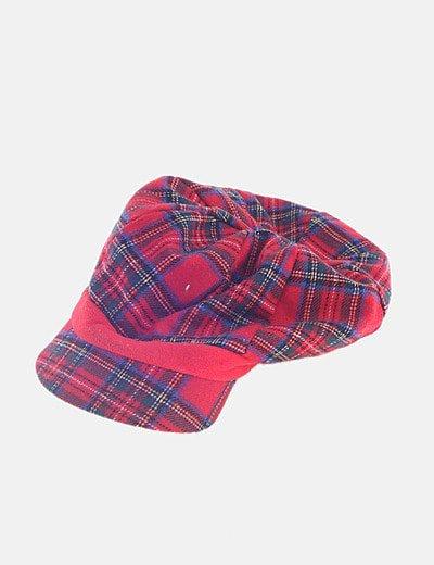 Gorra cuadro escocés