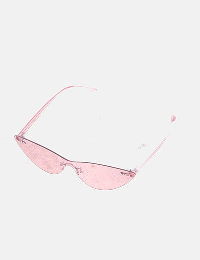 Gafa rosa transparente cat eye