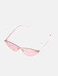 Gafa rosa transparente cat eye Mango