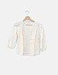 Blusa combinada blanco roto Bimba&Lola