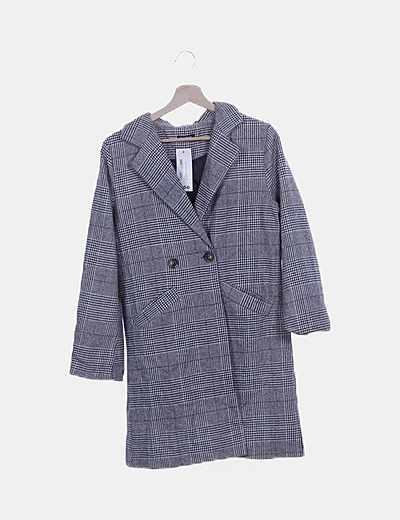 Boohoo long coat