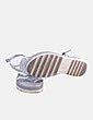 Sandalia glitter con tiras Plumers menorca