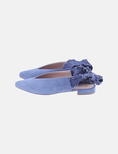 Zapato azul lazada