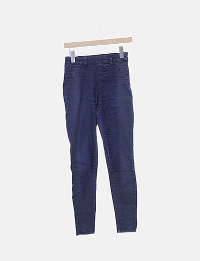 Jegging denim azul oscuro
