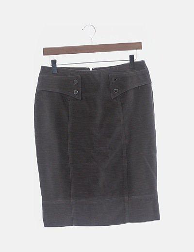 Purificación García midi skirt