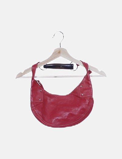Bolso pochette rojo