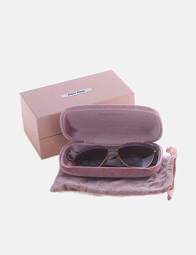 Gafas de sol SMU53Q cristal rosa