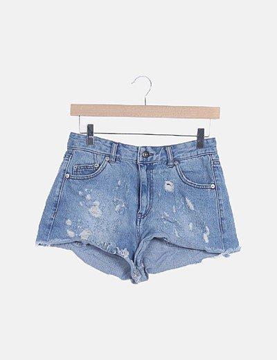 Shorts denim ripped