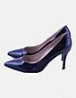 Zapatos salón charol negro Giko Shoes