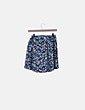 Conjunto top crop y falda estampado hawaiano NoName