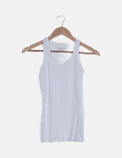 Camiseta nadadora blanca