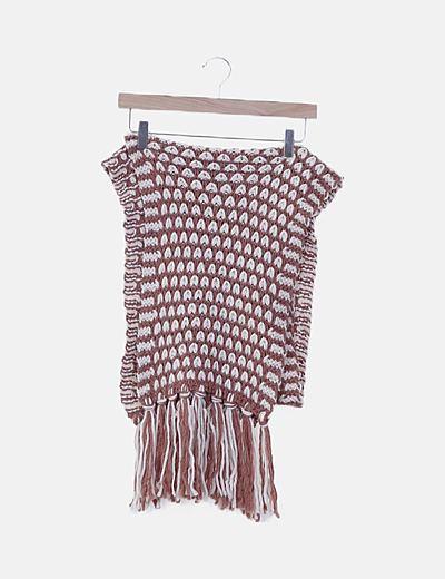 Bufanda lana bicolor