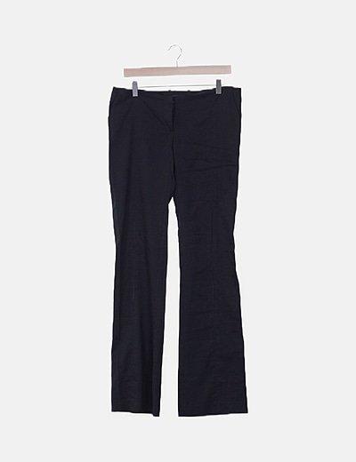 Pantalón negro pinzas
