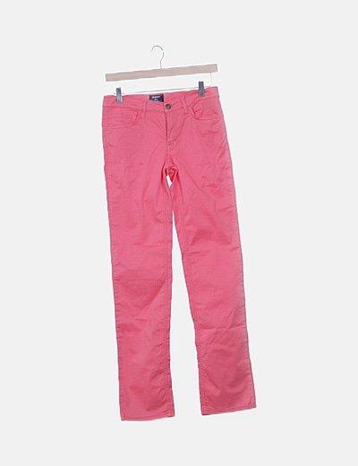 Jeans denim coral