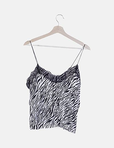 Camiseta lencera animal print