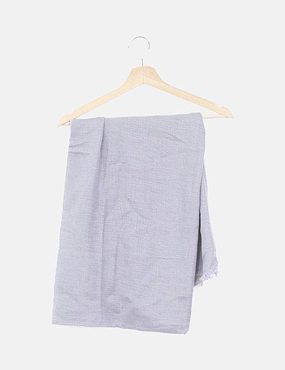 Maxi pañuelo gris