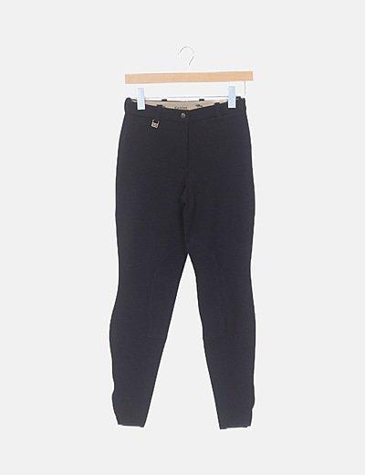 Pantalón hípica negro