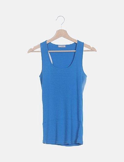 Camiseta canale azul