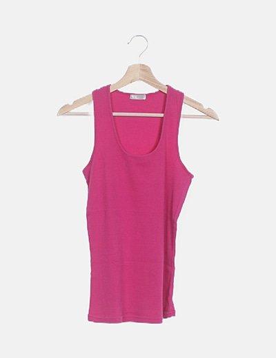 Camiseta canale rosa
