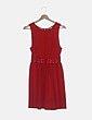 Vestido rojo sin mangas H&M