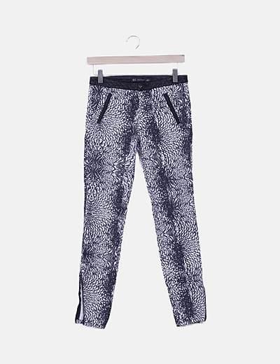 Pantalón skinny animal print