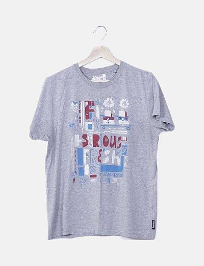 Camiseta manga corta serious fresh