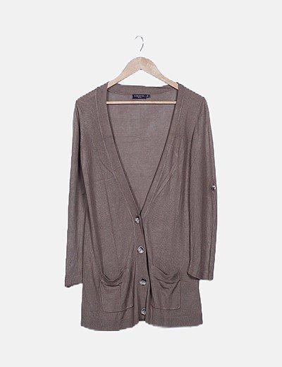 Jersey tricot khaki