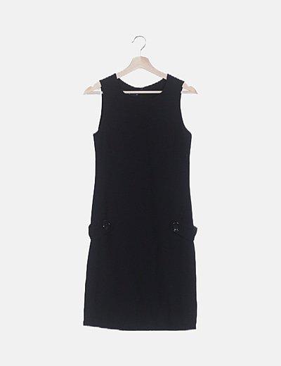 Vestido mini sin mangas
