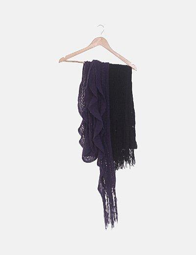 Pack dos bufandas tricot