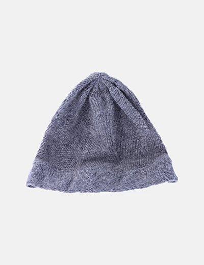 Gorro tricot gris