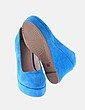 Cuña turquesa plataforma footwear