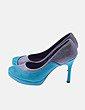 Zapato bicolor Madame flamingo