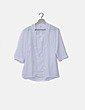 Blusa blanca combinada Vueling