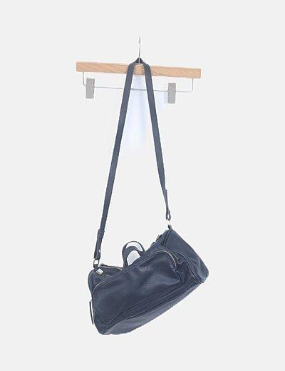 Bolso tote bag azul marino