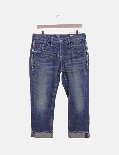 Jeans denim pirata