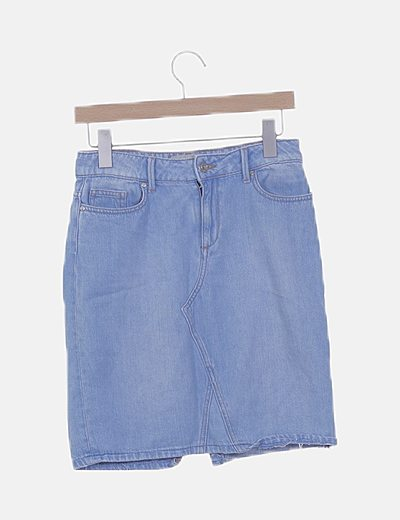 Short denim azul claro