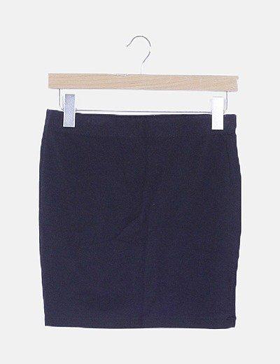 Mini falda negra deportiva