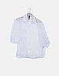Camisa semitransparente blanca con motas New Collection