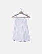Blusa blanca bordada NoName