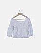 Blusa blanca bordada Suiteblanco
