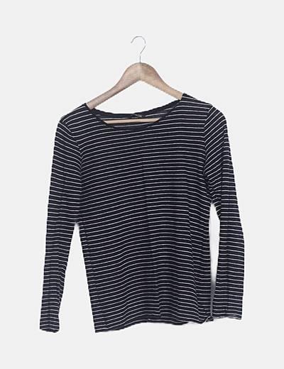 Camiseta tricot de rayas