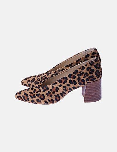 Zapato animal print