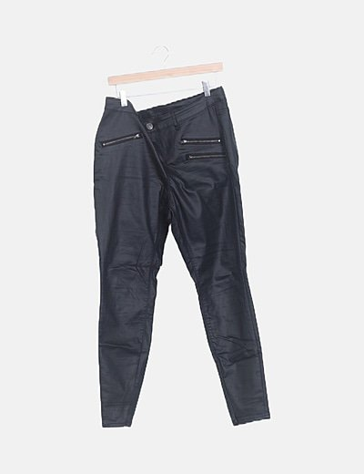 Jeans negro coated